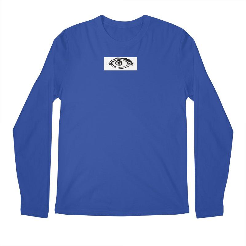 The Eye Men's Regular Longsleeve T-Shirt by Crooked Eye Swag Shop