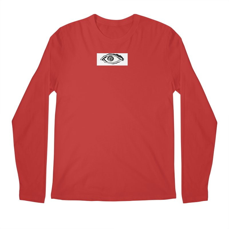 The Eye Men's Regular Longsleeve T-Shirt by Crooked Eye Swag Shop