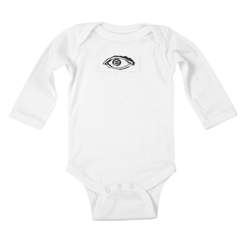 The Eye Kids Baby Longsleeve Bodysuit by Crooked Eye Swag Shop