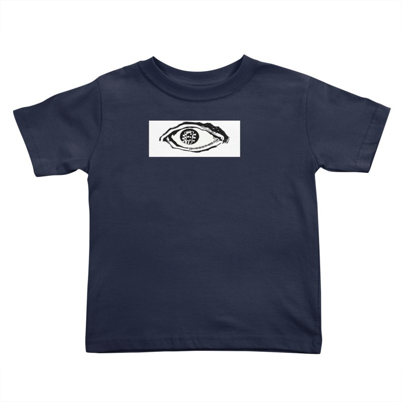 The Eye Kids Toddler T-Shirt by Crooked Eye Swag Shop