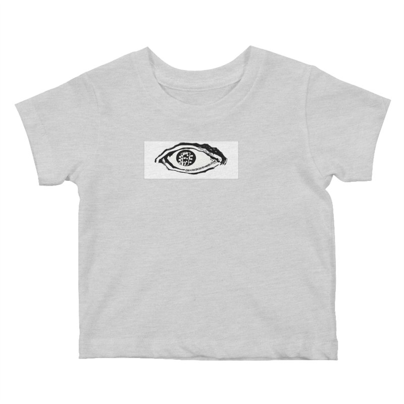 The Eye Kids Baby T-Shirt by Crooked Eye Swag Shop