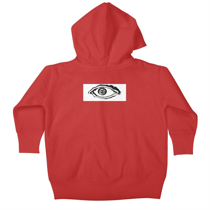 The Eye Kids Baby Zip-Up Hoody by Crooked Eye Swag Shop