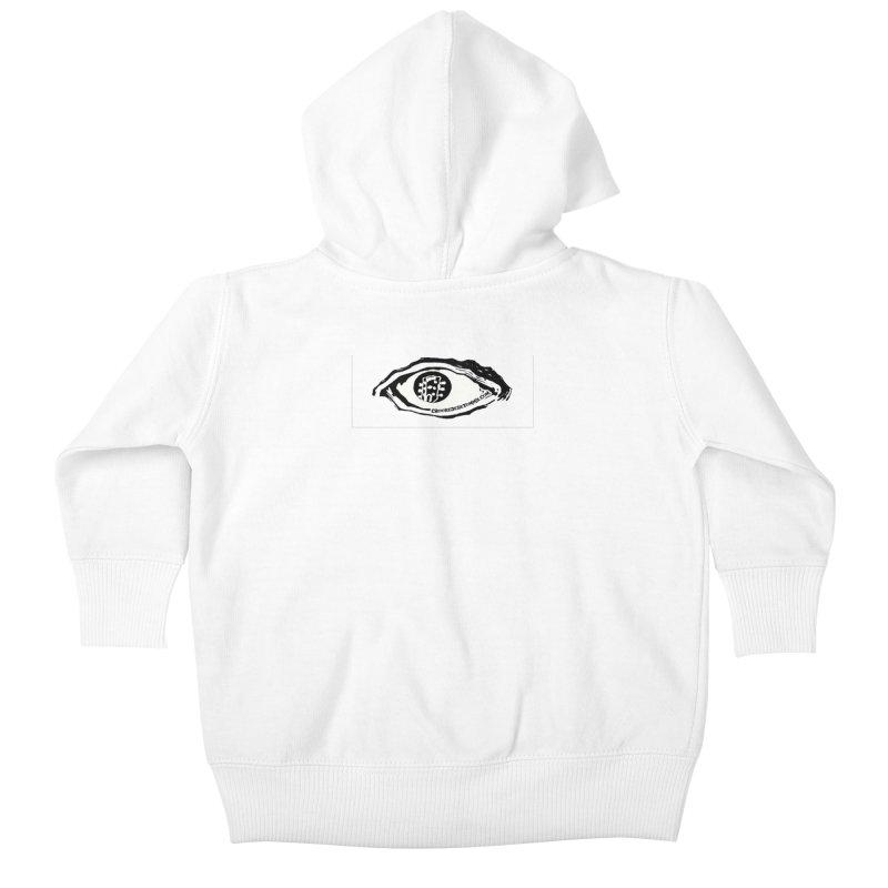 The Eye Kids Baby Zip-Up Hoody by Crooked Eye Swag Shop