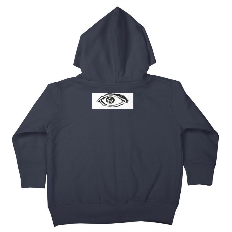 The Eye Kids Toddler Zip-Up Hoody by Crooked Eye Swag Shop