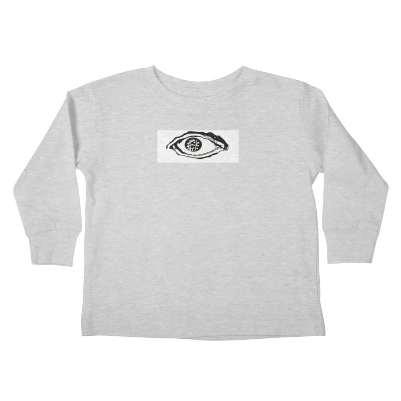 The Eye Kids Toddler Longsleeve T-Shirt by Crooked Eye Swag Shop