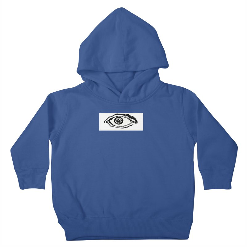The Eye Kids Toddler Pullover Hoody by Crooked Eye Swag Shop