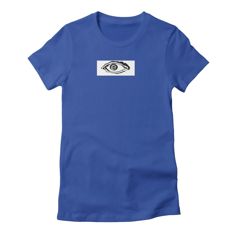 The Eye Women's Fitted T-Shirt by Crooked Eye Swag Shop