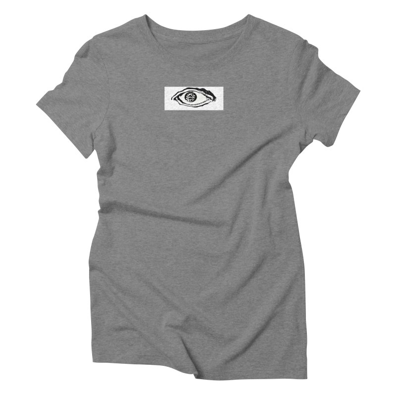 The Eye Women's Triblend T-Shirt by Crooked Eye Swag Shop