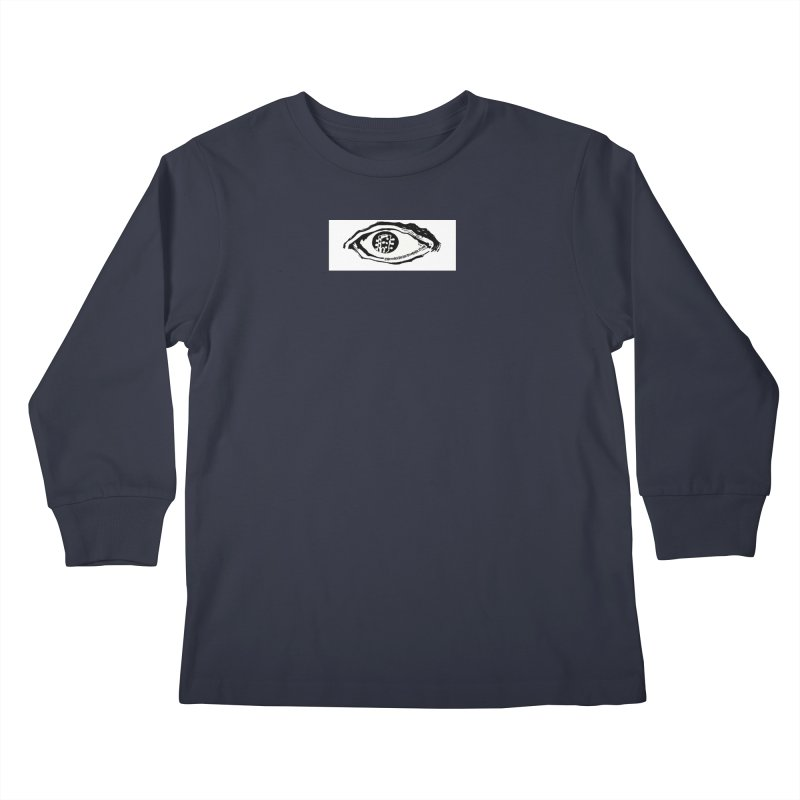 The Eye Kids Longsleeve T-Shirt by Crooked Eye Swag Shop