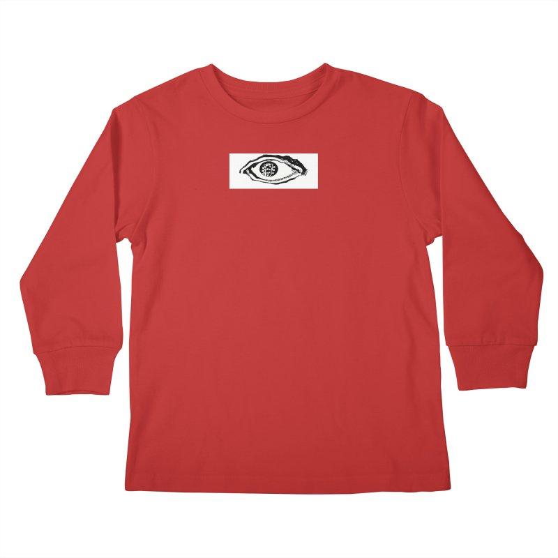 The Eye Kids Longsleeve T-Shirt by Crooked Eye Swag Shop