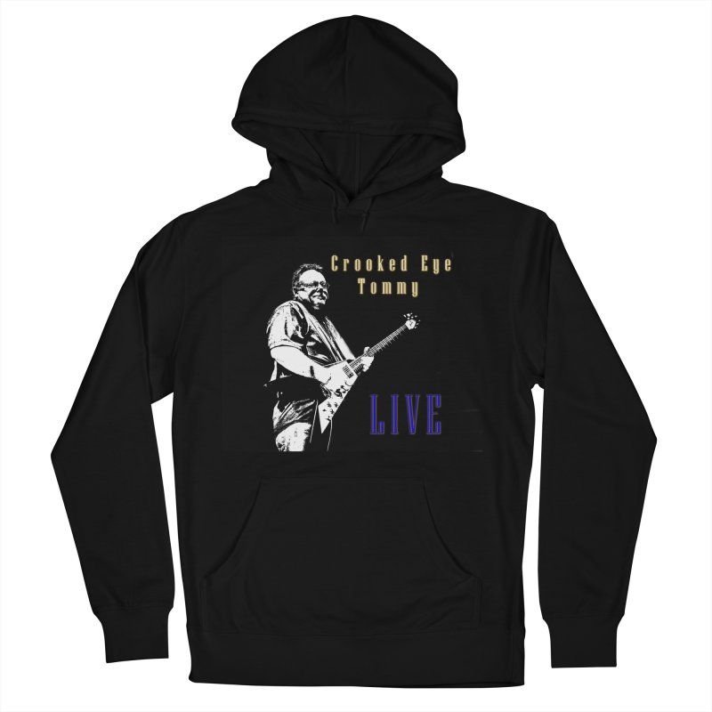 CET LIVE Women's French Terry Pullover Hoody by Crooked Eye Swag Shop