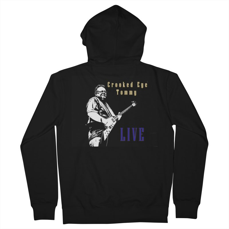 CET LIVE Men's French Terry Zip-Up Hoody by Crooked Eye Swag Shop