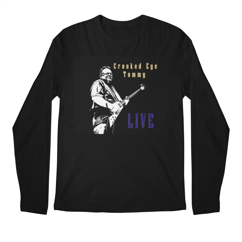 CET LIVE Men's Regular Longsleeve T-Shirt by Crooked Eye Swag Shop