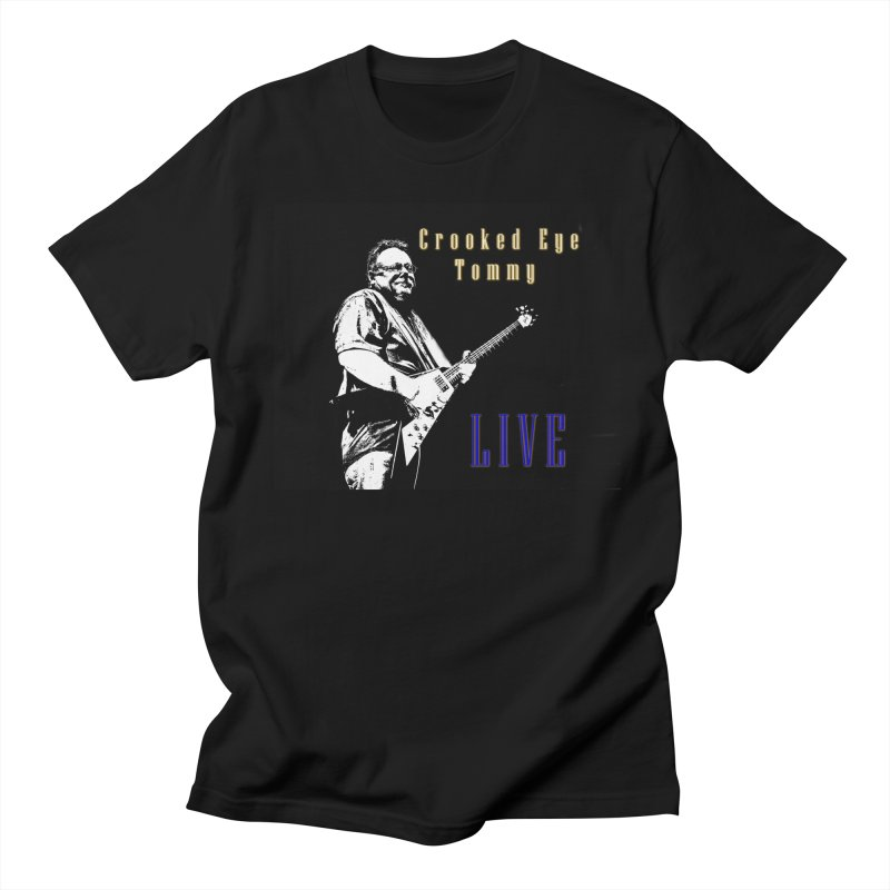 CET LIVE Women's Regular Unisex T-Shirt by Crooked Eye Swag Shop