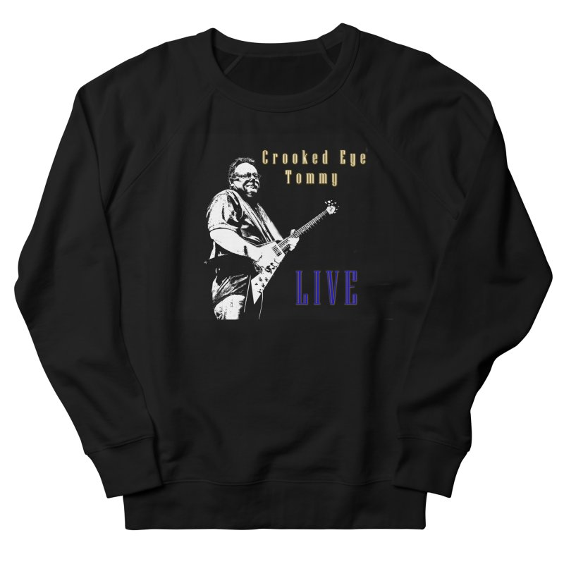 CET LIVE Men's French Terry Sweatshirt by Crooked Eye Swag Shop