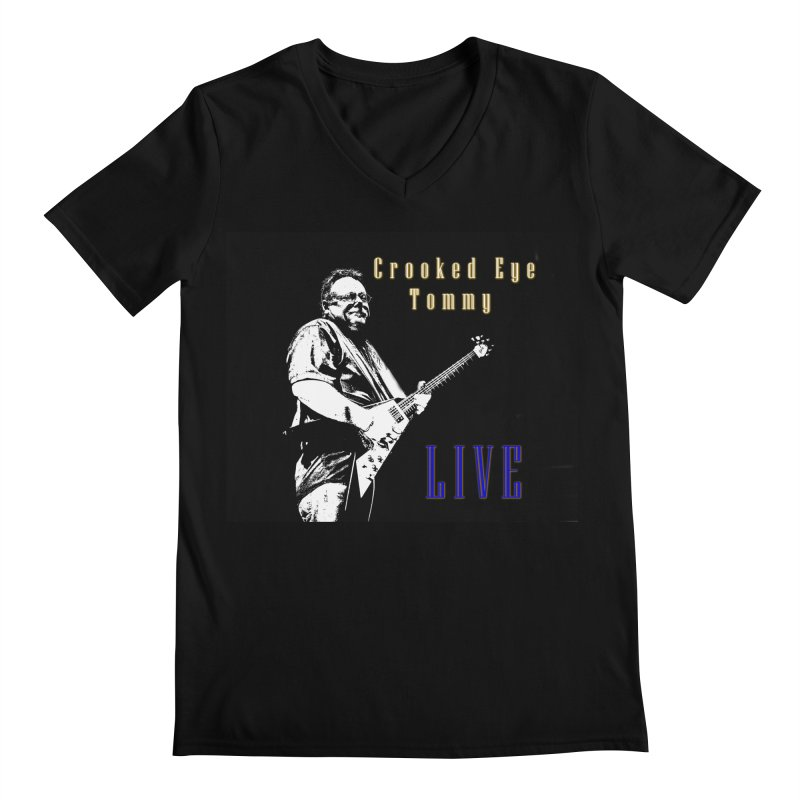 CET LIVE Men's Regular V-Neck by Crooked Eye Swag Shop
