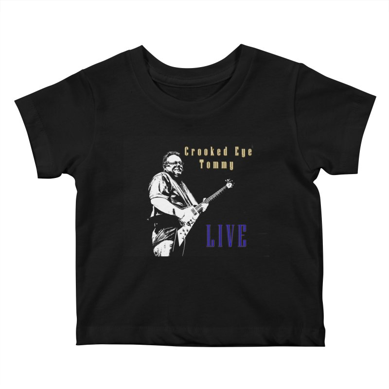 CET LIVE Kids Baby T-Shirt by Crooked Eye Swag Shop