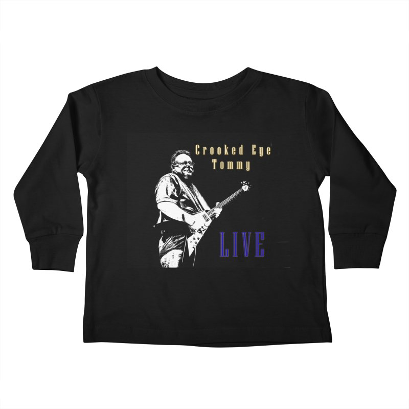 CET LIVE Kids Toddler Longsleeve T-Shirt by Crooked Eye Swag Shop