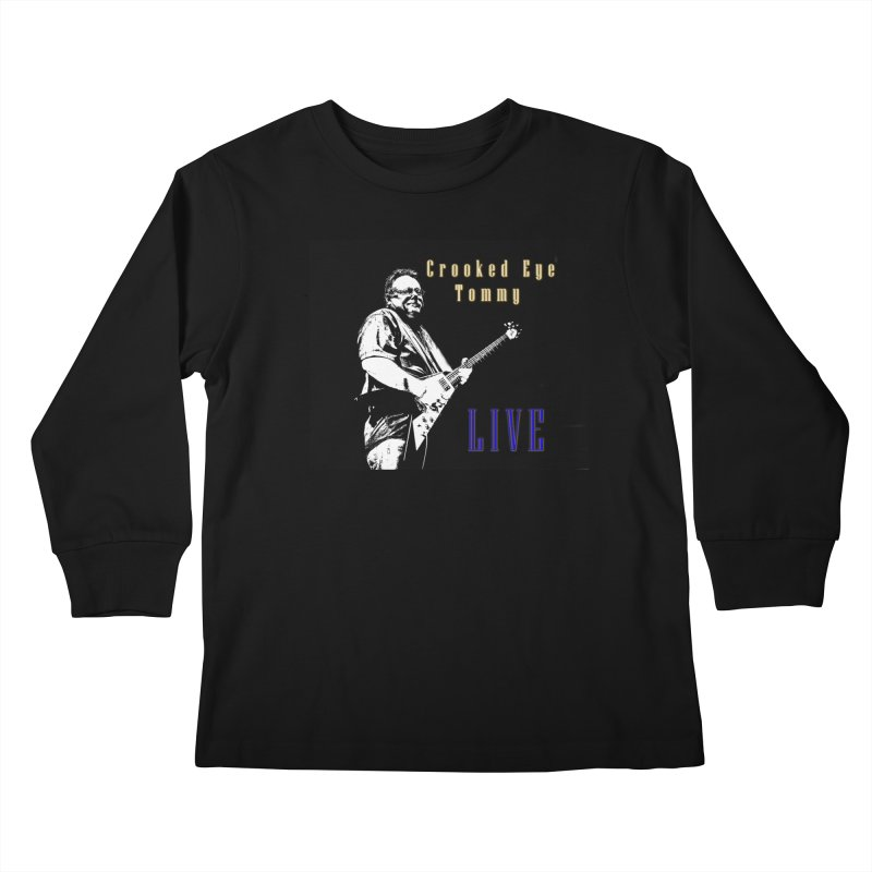 CET LIVE Kids Longsleeve T-Shirt by Crooked Eye Swag Shop