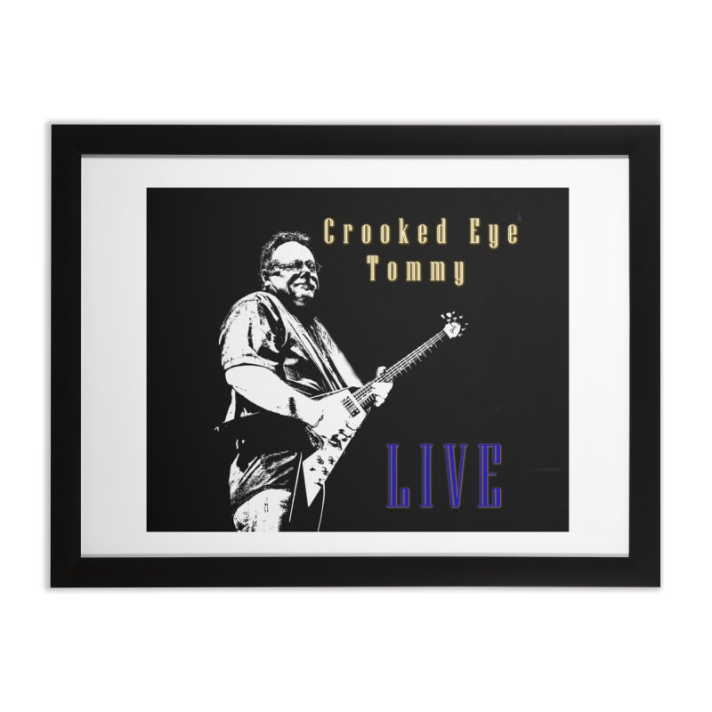 CET LIVE Home Framed Fine Art Print by Crooked Eye Swag Shop