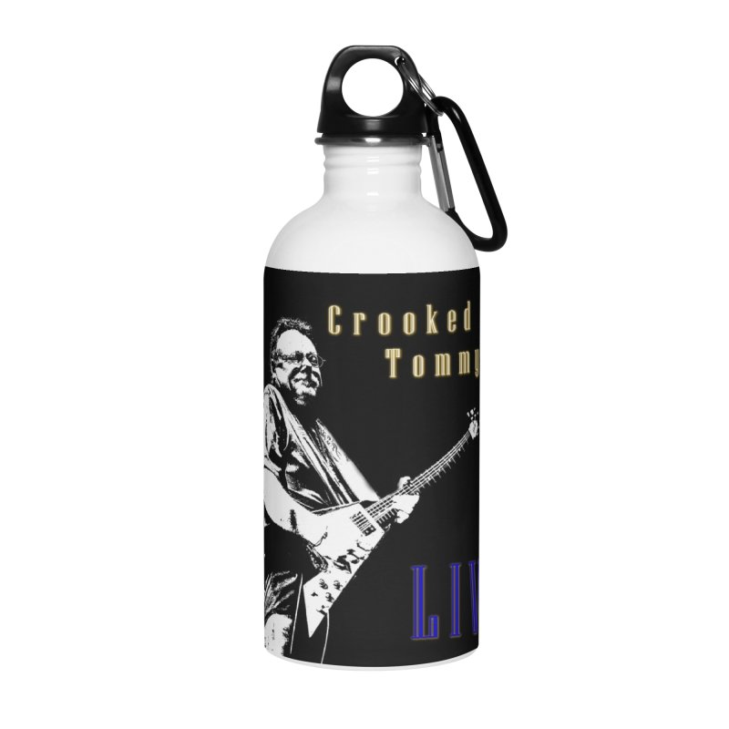 CET LIVE Accessories Water Bottle by Crooked Eye Swag Shop