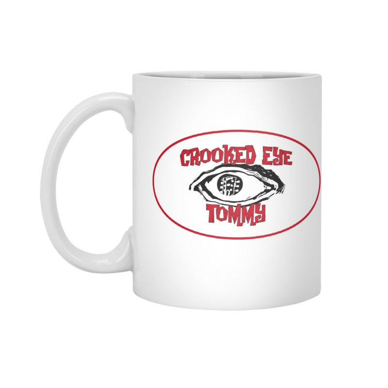 Floating CET Logo PNG Accessories Standard Mug by Crooked Eye Swag Shop