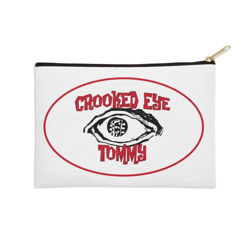 Floating CET Logo PNG Accessories Zip Pouch by Crooked Eye Swag Shop