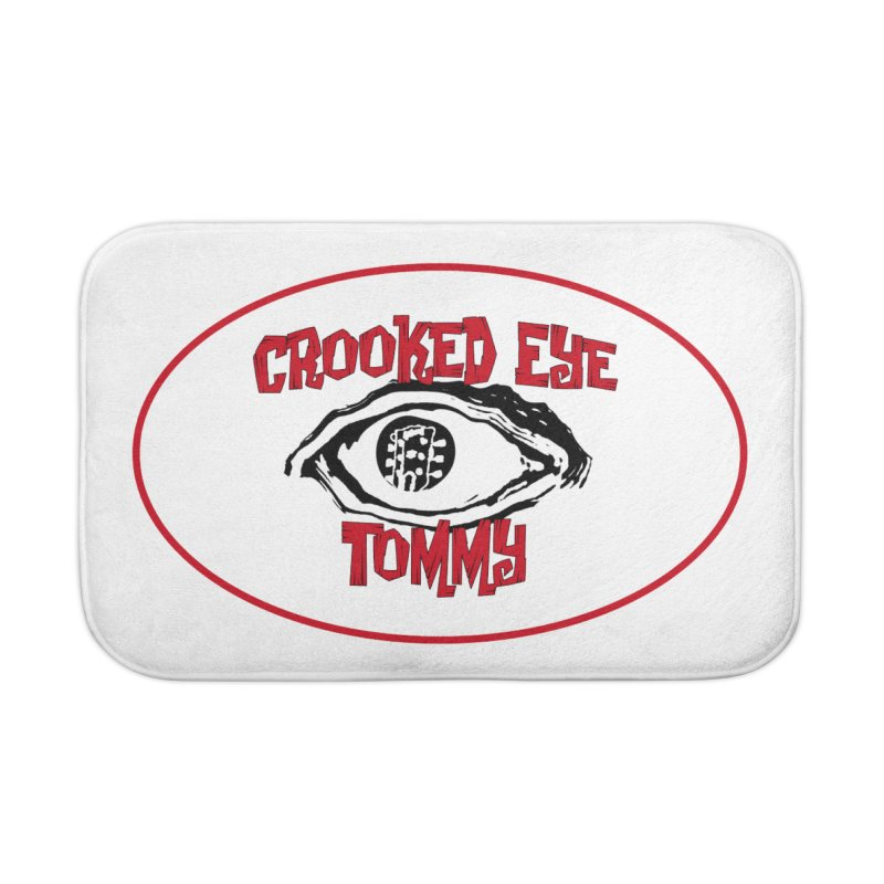 Floating CET Logo PNG Home Bath Mat by Crooked Eye Swag Shop