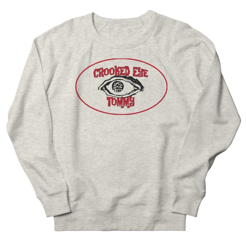 Floating CET Logo PNG Women's French Terry Sweatshirt by Crooked Eye Swag Shop