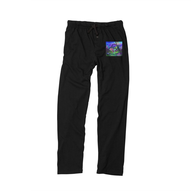 Butterflies & Snakes Cover Men's Lounge Pants by Crooked Eye Swag Shop