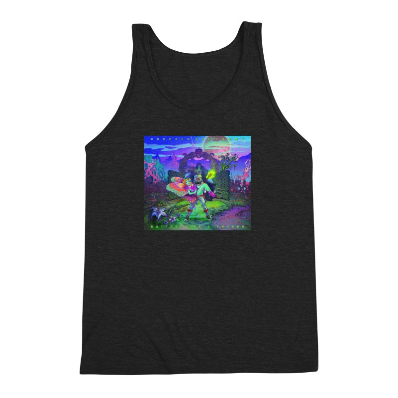 Butterflies & Snakes Cover Men's Tank by Crooked Eye Swag Shop