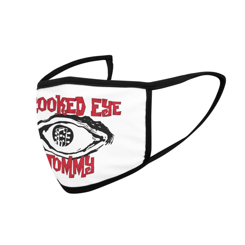 CET Logo Accessories Face Mask by Crooked Eye Swag Shop