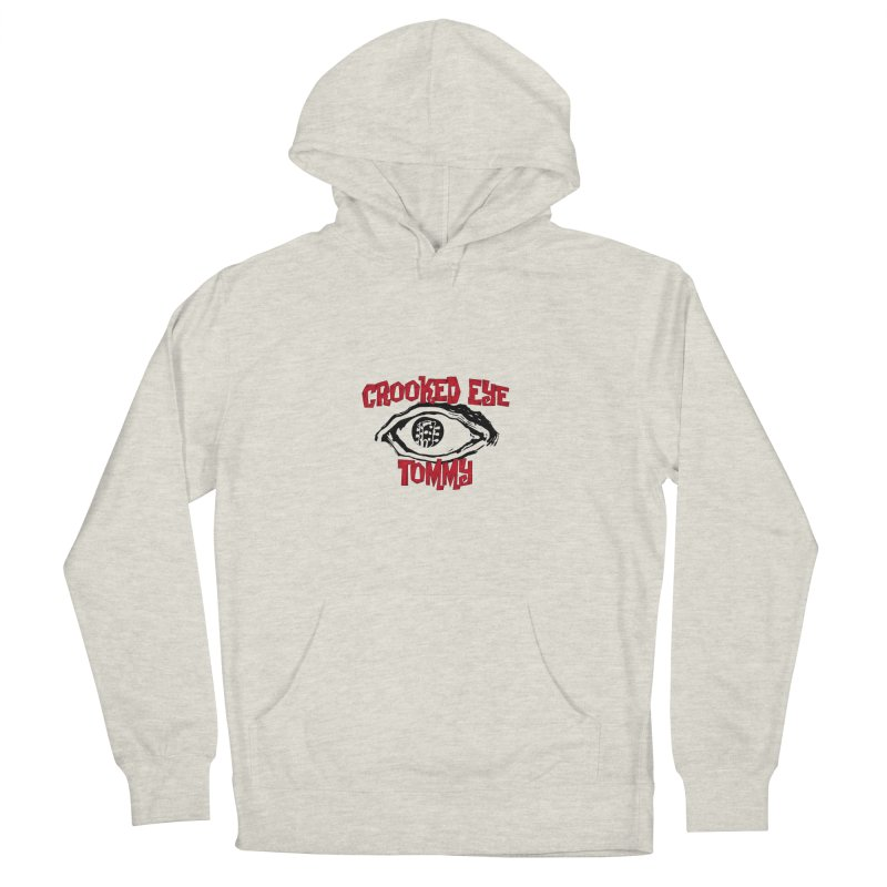 CET Logo Men's French Terry Pullover Hoody by Crooked Eye Swag Shop