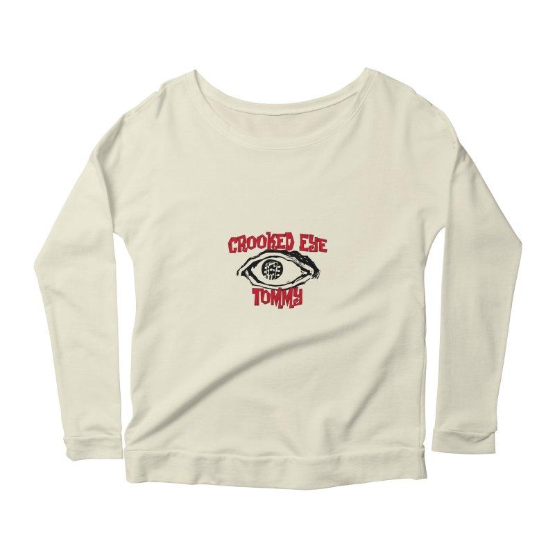 CET Logo Women's Scoop Neck Longsleeve T-Shirt by Crooked Eye Swag Shop