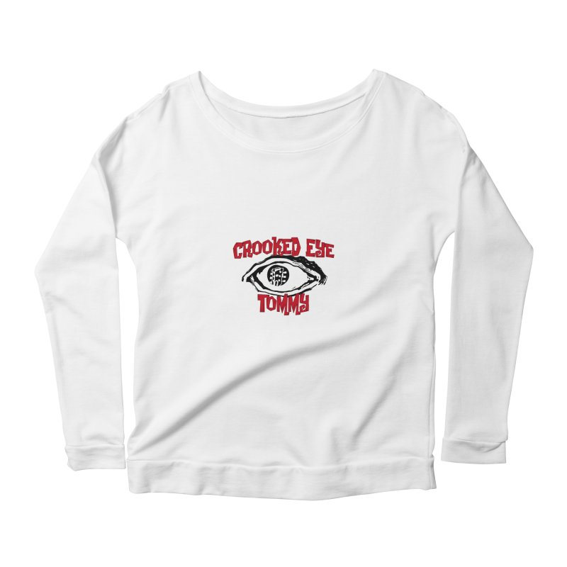 CET Logo Women's Scoop Neck Longsleeve T-Shirt by Crooked Eye Swag Shop