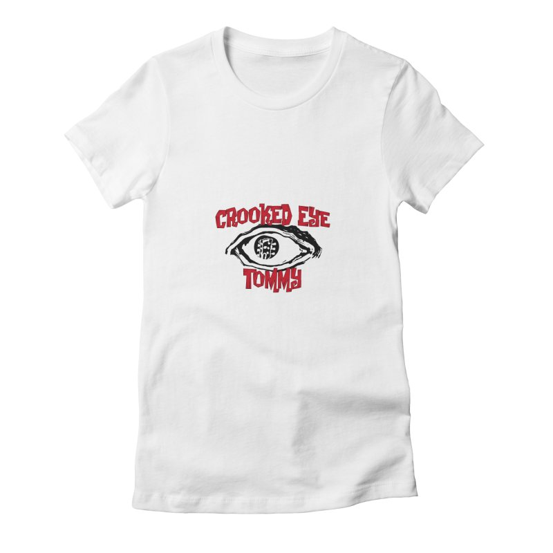 CET Logo Women's Fitted T-Shirt by Crooked Eye Swag Shop