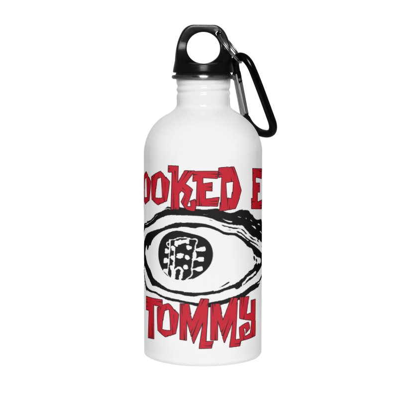 CET Logo Accessories Water Bottle by Crooked Eye Swag Shop