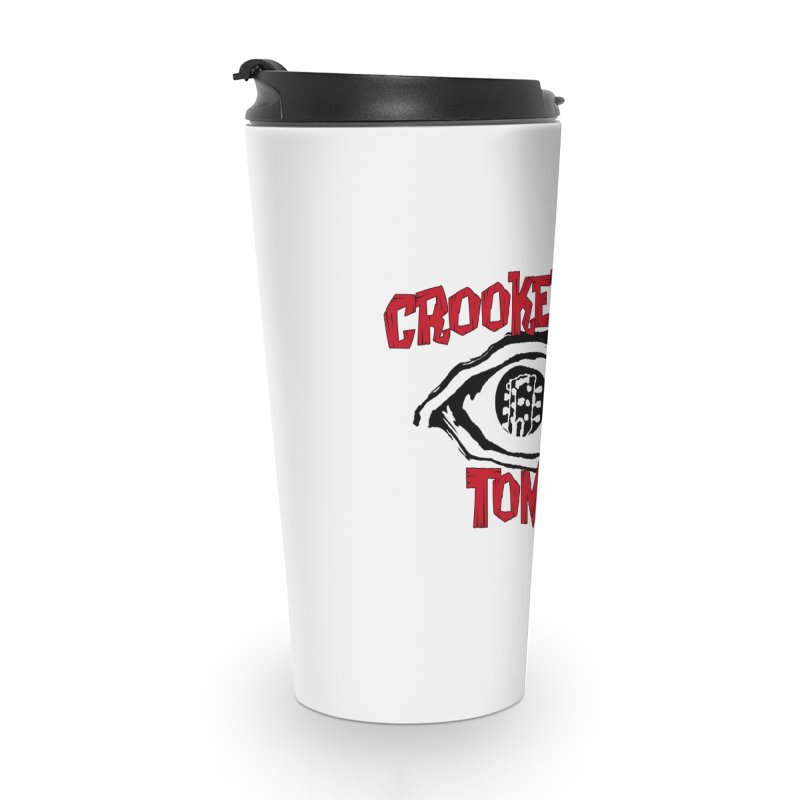 CET Logo Accessories Travel Mug by Crooked Eye Swag Shop