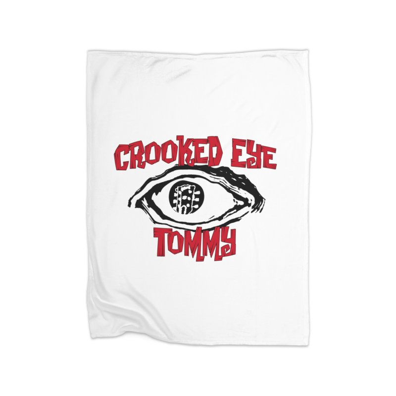CET Logo Home Fleece Blanket Blanket by Crooked Eye Swag Shop