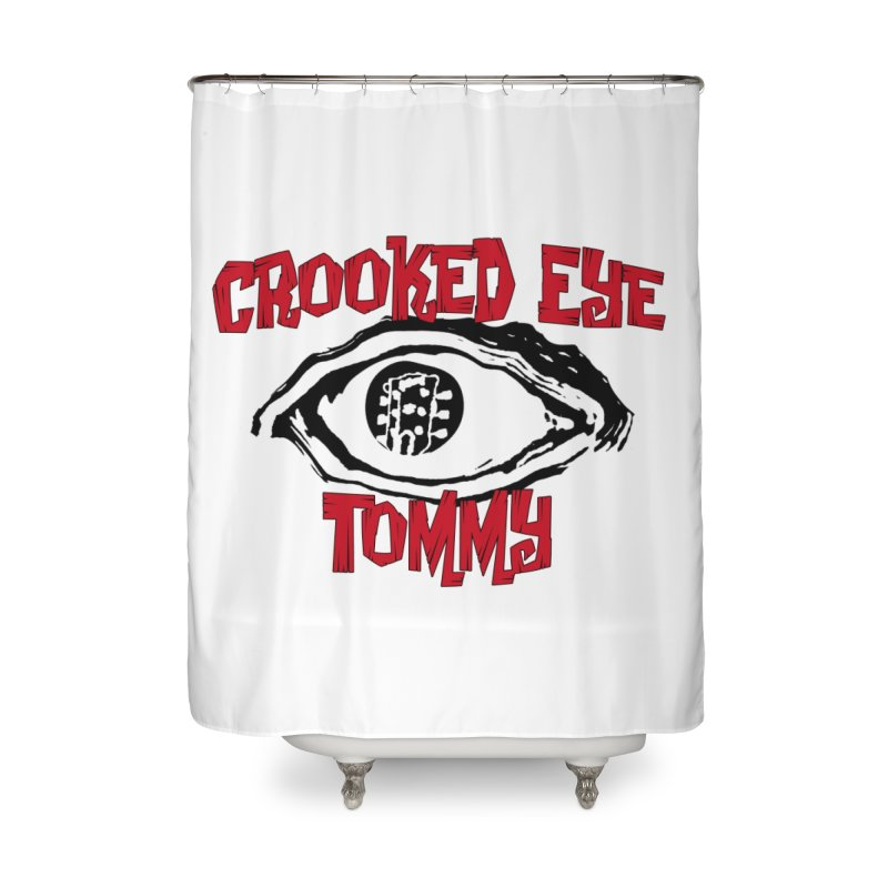 CET Logo Home Shower Curtain by Crooked Eye Swag Shop