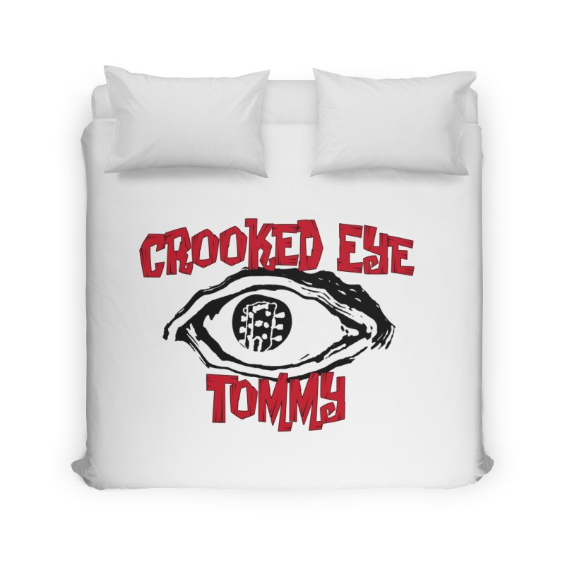 CET Logo Home Duvet by Crooked Eye Swag Shop