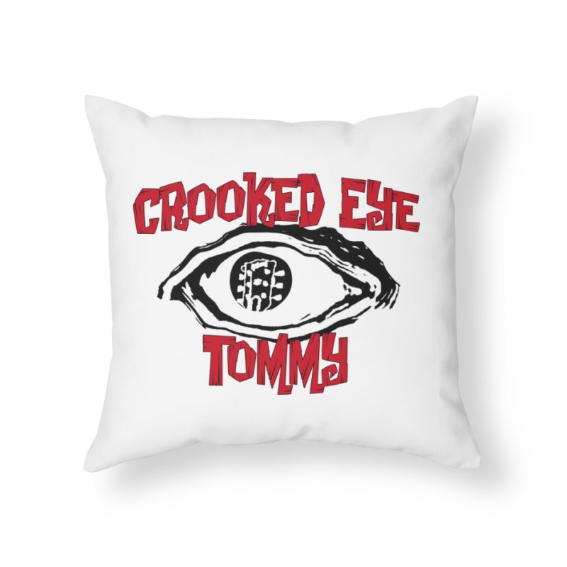 CET Logo Home Throw Pillow by Crooked Eye Swag Shop