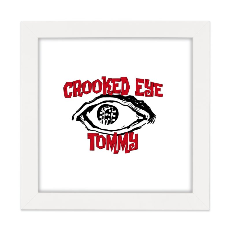 CET Logo Home Framed Fine Art Print by Crooked Eye Swag Shop