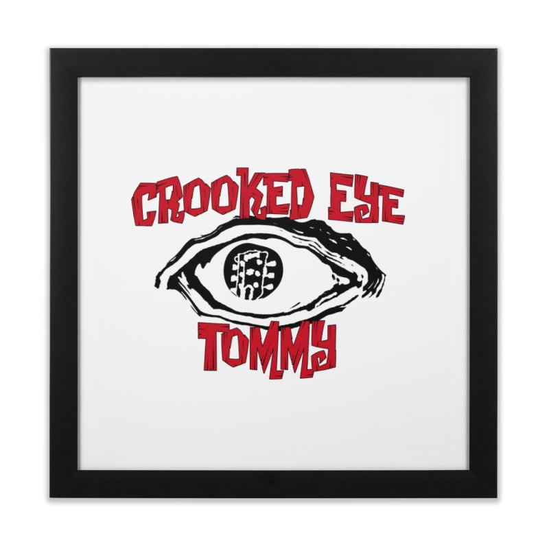CET Logo Home Framed Fine Art Print by Crooked Eye Swag Shop