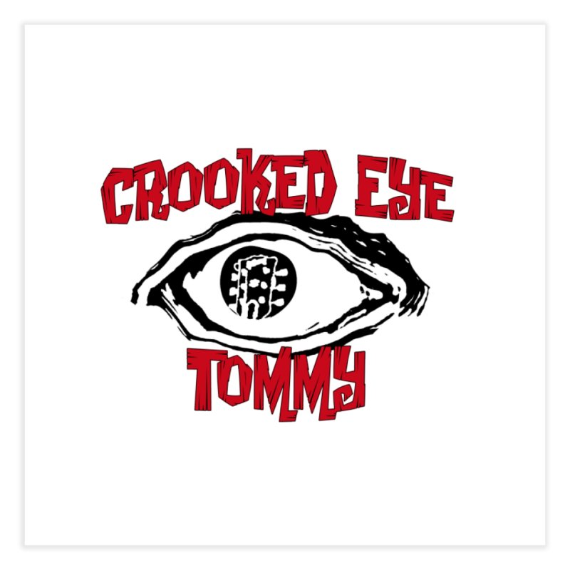 CET Logo Home Fine Art Print by Crooked Eye Swag Shop