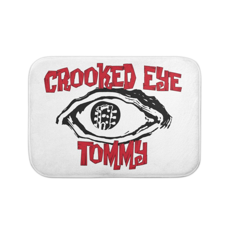 CET Logo Home Bath Mat by Crooked Eye Swag Shop
