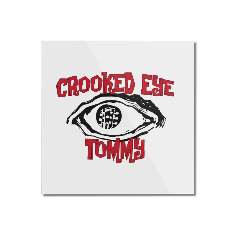 CET Logo Home Mounted Acrylic Print by Crooked Eye Swag Shop