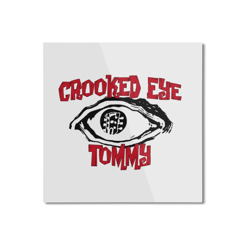 CET Logo Home Mounted Aluminum Print by Crooked Eye Swag Shop