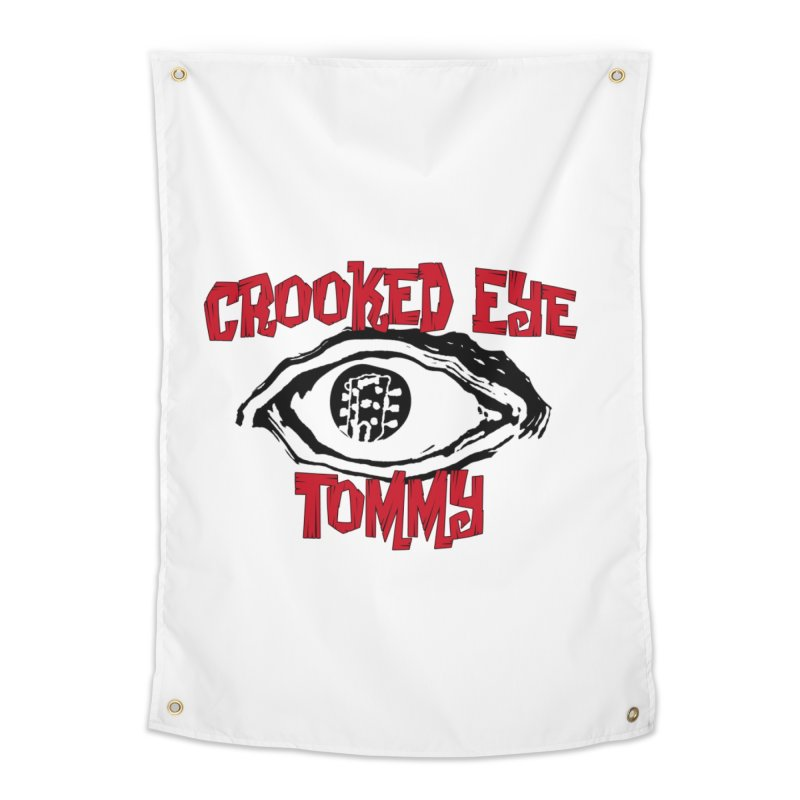 CET Logo Home Tapestry by Crooked Eye Swag Shop