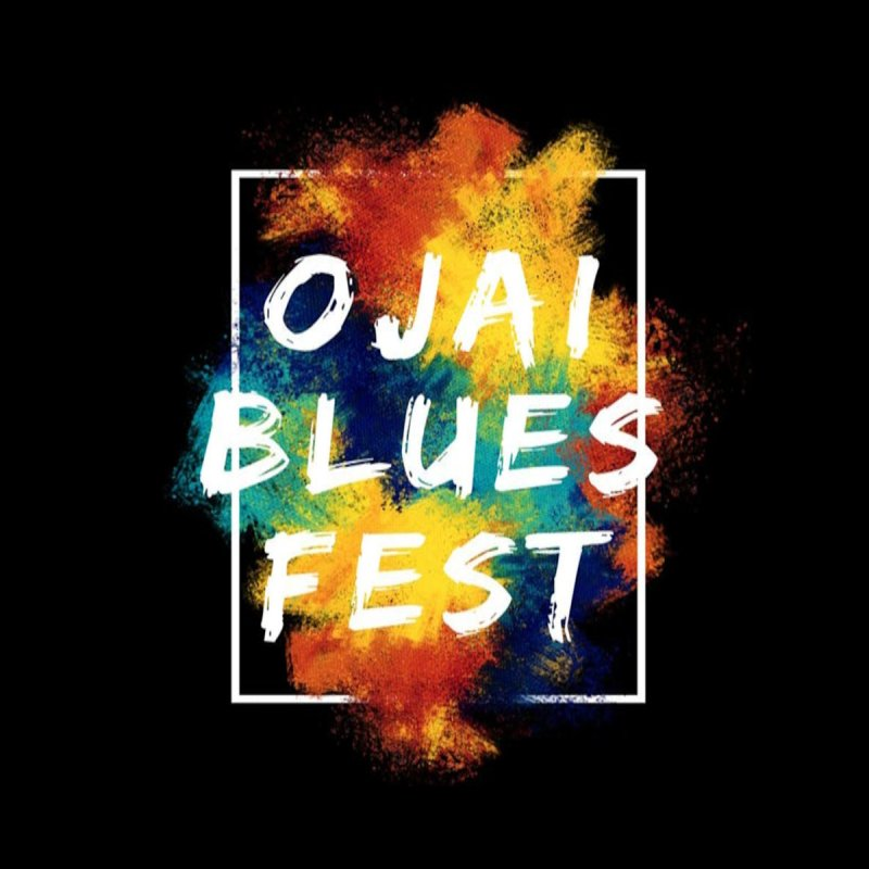 Ojai Blues Fest Logo by Crooked Eye Swag Shop